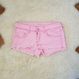 Cute Pink Short Shorts Size 7
